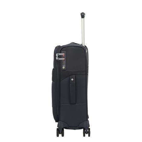 DUOPACK - 4 Tekerlekli Körüklü Tek Bölmeli Kabin Boy Valiz 55cm SKA3-001-SF000*01