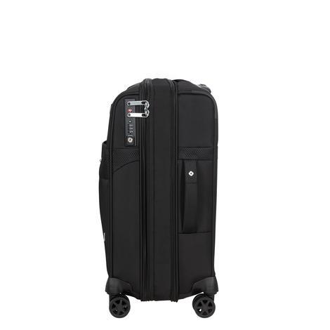 DUOPACK - 4 Tekerlekli Körüklü İki Bölmeli Kabin Boy Valiz 55cm SKA3-004-SF000*09