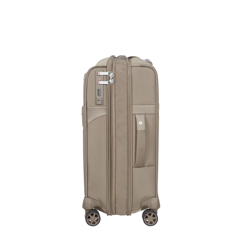 DUOPACK - 4 Tekerlekli Körüklü İki Bölmeli Kabin Boy Valiz 55cm SKA3-004-SF000*05