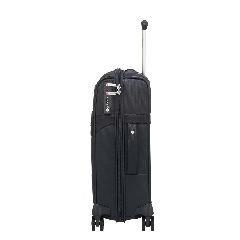 DUOPACK - 4 Tekerlekli Körüklü İki Bölmeli Kabin Boy Valiz 55cm SKA3-004-SF000*01