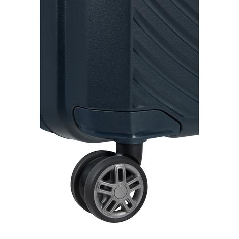 HI-FI- 4 Tekerlekli Körüklü Kabin Boy Valiz 55cm SKD8-001-SF000*01