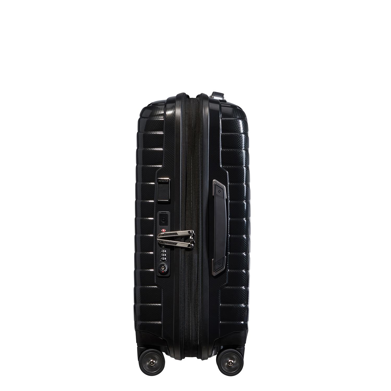 PROXIS- SPINNER 4 Tekerlekli Körüklü Kabin Boy Valiz 55cm SCW6-001-SF000*09