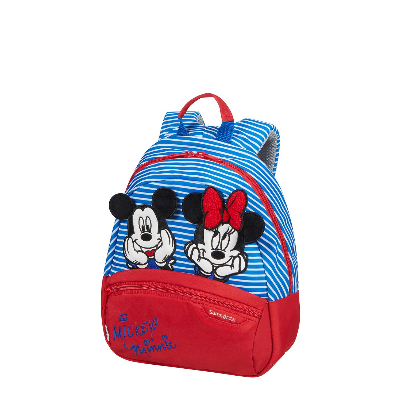 DISNEY ULTIMATE 2.0-Minnie Mickey Çizgili Sırt Çantası S S40C-024-SF000*10