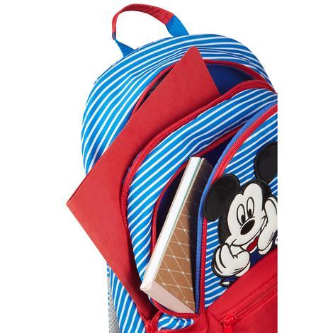 DISNEY ULTIMATE 2.0-Minnie Mickey Çizgili Sırt Çantası M S40C-026-SF000*10