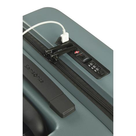 STACKD - 4 Tekerlekli Körüklü Kabin Boy Valiz Easy Access 55 cm SKF1-005-SF000*14